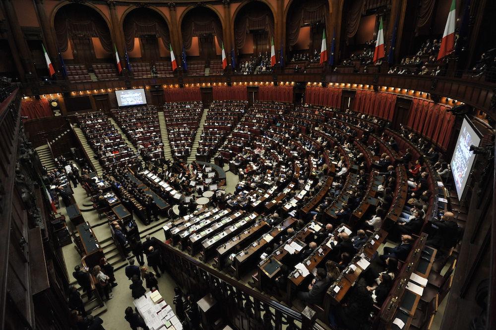 Parlamento italiano - fonte: Camera dei Deputati