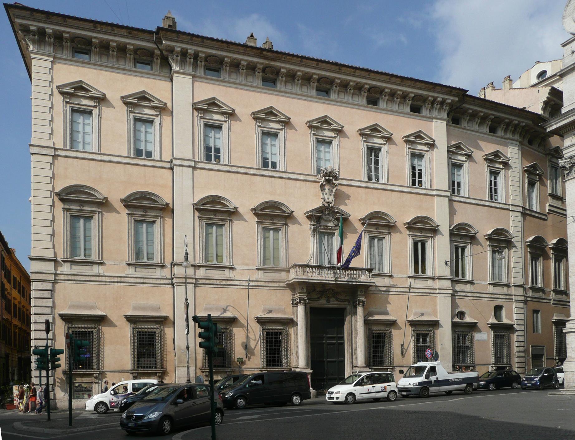 Palazzo Altieri - foto di Georg Schelbert