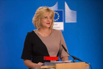Corina Cretu - © European Union, 2018/Source: EC - Audiovisual Service/Photo: Lukasz Kobus