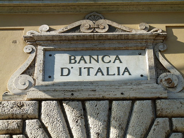Banca d'Italia - Photo credit Dawid Skalec