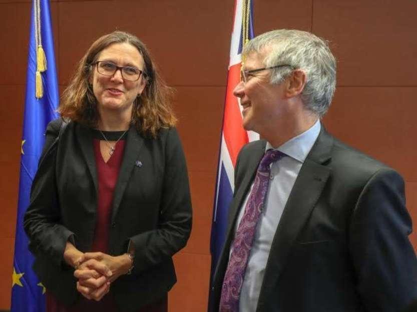 Malmström e Parker © European Union, 2018/Source: EC - Audiovisual Service