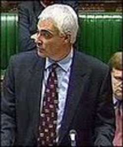 IL CANCELLIERE INGLESE ALISTAIR DARLING Fonte: www.alistairdarlingmp.org.uk