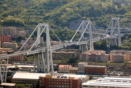 Ponte Morandi - Photo credit: Bbruno