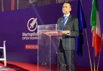 Luigi Di Maio - Photo credit: pagina Twitter StartupItalia!
