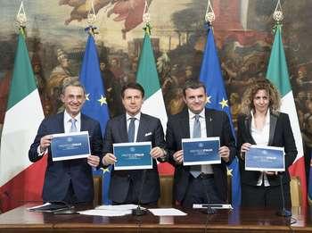 Presentazione Proteggi Italia - Photo credit: Palazzo Chigi