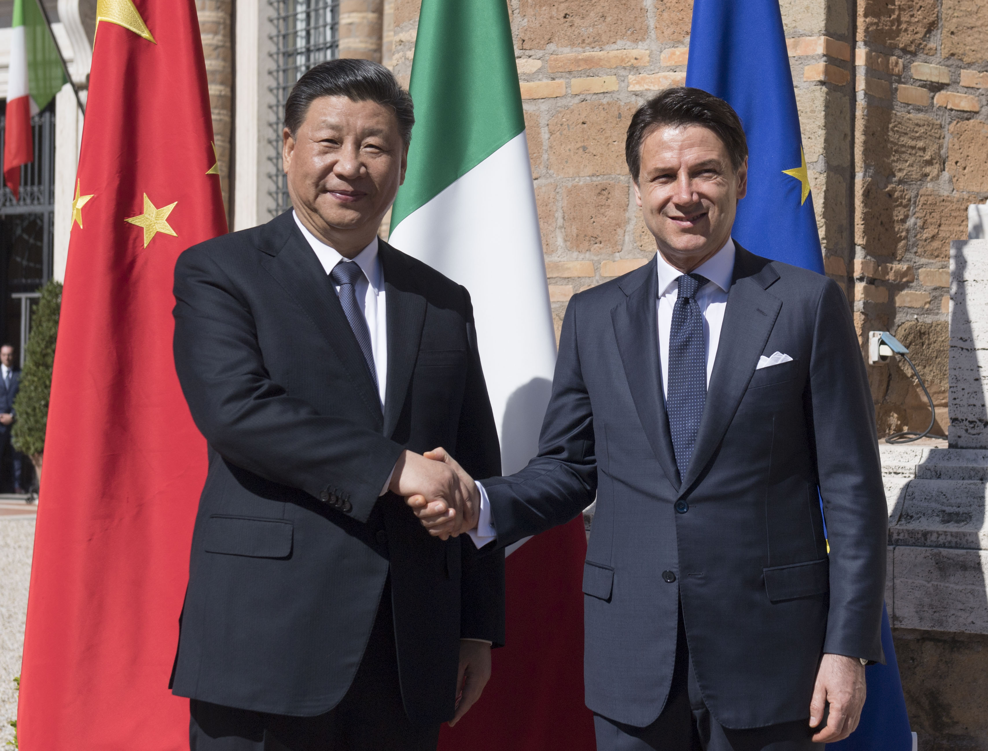 Italia-Cina - foto Governo.it