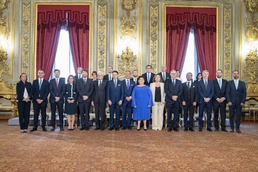 Governo Conte bis - Foto Quirinale
