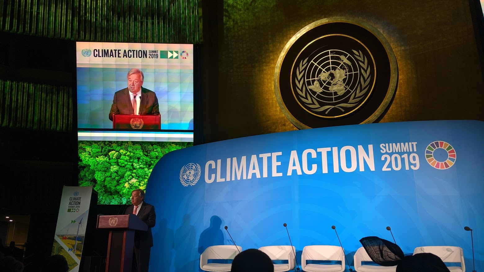 Vertice Clima - Photo credit: profilo Twitter United Nation