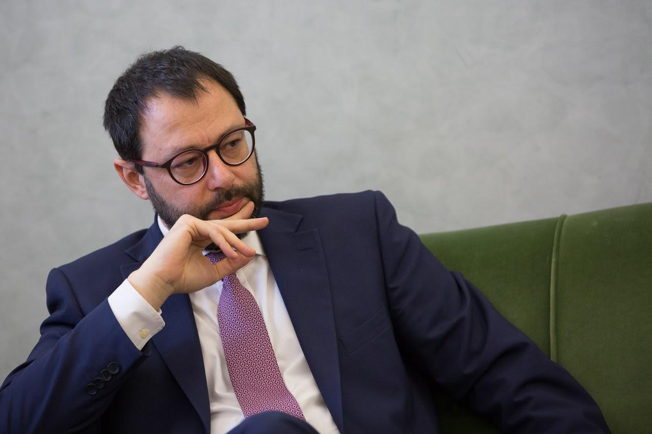 Stefano Patuanelli - Photocredit: profilo Twitter Stefano Patuanelli