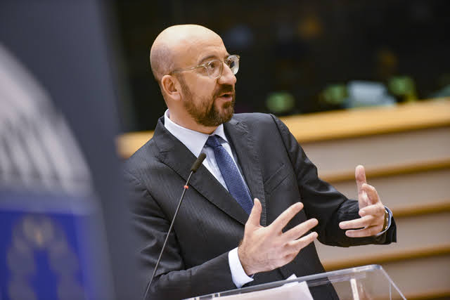 Charles Michel - Photocredit: © European Union 2020 - Source : EP