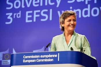 Commissione UE: al via quadro temporaneo aiuti di stato - photo credit: European Union, 2020 / EC - Audiovisual Service - Photographer: Dati Bendo