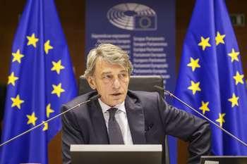 David Sassoli - Photocredit: Copyright© European Union 2020 - Source : EP