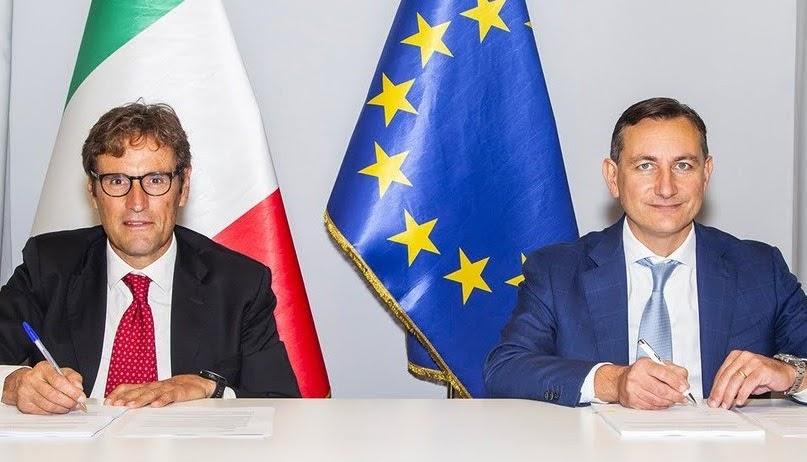 Accordo CDP-Assoconfidi - photo credit: profilo Twitter Cassa Depositi e Prestiti