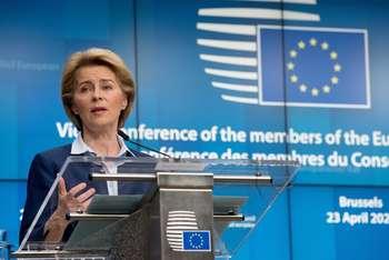 Ursula Von der Leyen - Copyright European Union 2020 Photographer: Etienne Ansotte