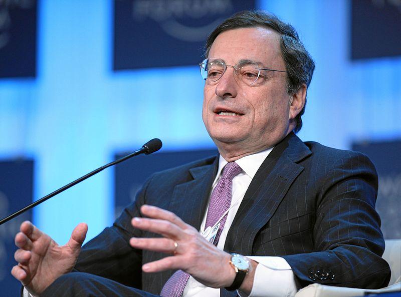Mario Draghi - Photocredit: World Economic Forum