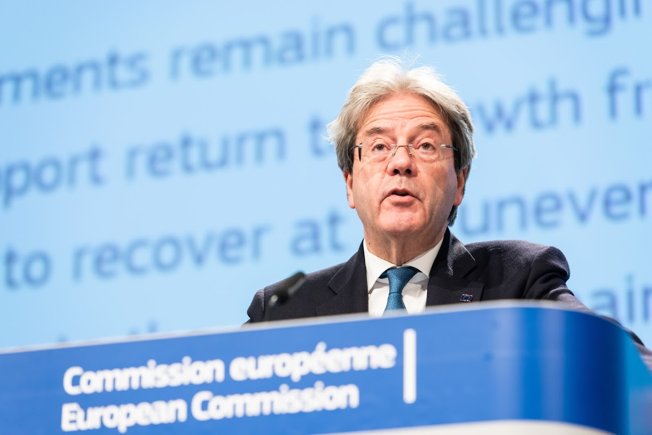 Paolo Gentiloni - European Union, 2021 Source: EC - Audiovisual Service