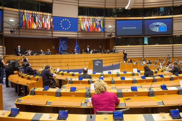 Plenaria - Foto di Jan Van De Vel © European Union 2021 - Source : EP