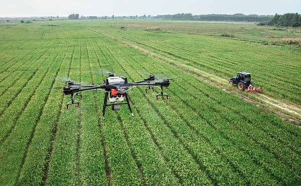 Agricoltura 4.0 - Photo credit: Foto di DJI-Agras da Pixabay