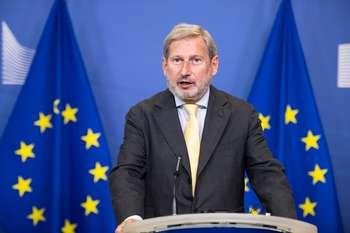 Johannes Hahn - Photo credit: European Union, 2021 Photographer: Lukasz Kobus