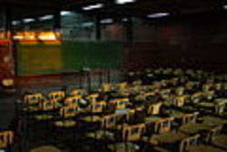 Aula universitaria - Foto di Mitosio