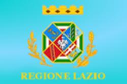 Bandiera Regione Lazio - Immagine di Sinigagl