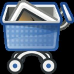 Shopping cart - immagine di Rocket000