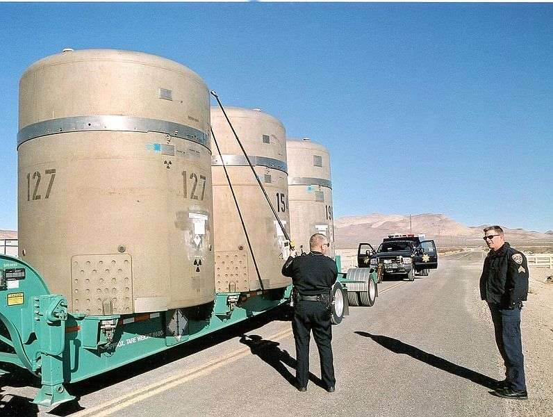Nuclear waste container - Foto di National Nuclear Security Administration
