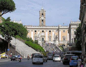 Campidoglio, Roma - foto di Arpingstone